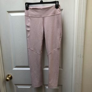 Outdoor voices pink leggings